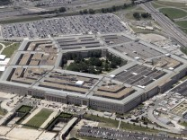 File photo of an aerial view of the Pentagon in Washington