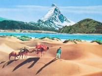 Matterhorn Schweiz Wallis Souvenirs Bilder Berg Reiseblog