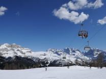 Madonna di Campiglio, Skifahren, Italien, Brentagruppe, Schnee