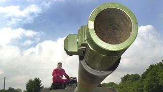 Leopard 2 auf Teststrecke