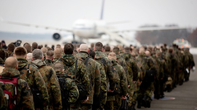 Bundeswehr-Soldaten starten in den Türkei-Einsatz