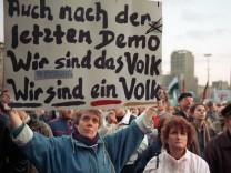 """Leipziger Revolutionsruf ´Wir sind das Volk"""""""