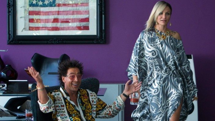 """Javier Bardem und Cameron Diaz in """"The Counselor"""""""
