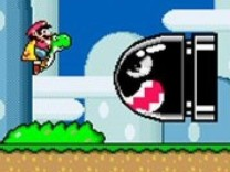 "Screenshot aus ""Super Mario World""."