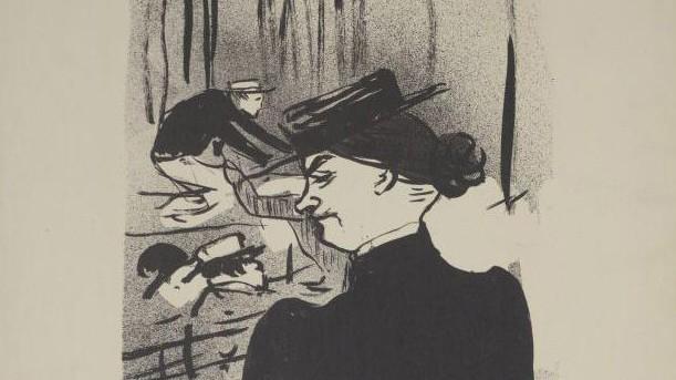 Henri de Toulouse-Lautrec, Werk aus der Gurlitt-Sammlung
