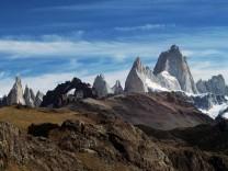 Patagonien Cerro Torre Fitz Roy