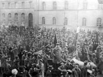 Demonstration des Arbeiterrats in München, 1919