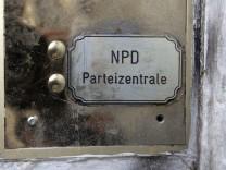 Jahreswechsel - NPD-Zentrale in Berlin