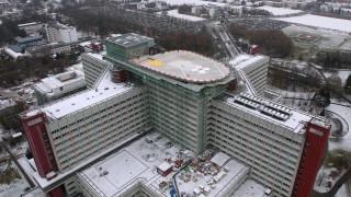 Neuer Hubschraubelandeplatz auf dem Klinikum Augsburg