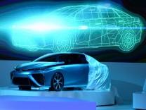 Der Toyota FCV Concept wird bei der Tokyo Motor Show enthüllt.