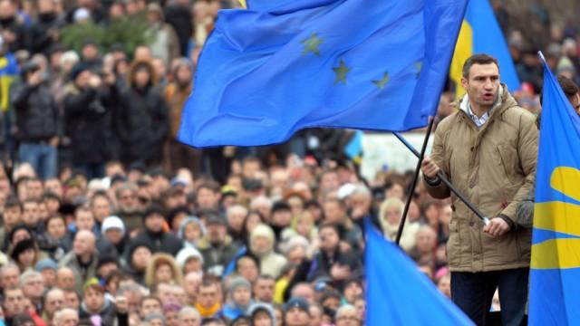 Regierungskrise in der Ukraine Proteste in der Ukraine