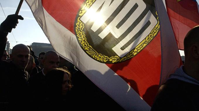 Die NPD ist von der AfD an den Rand gedrängt worden. (Foto: dpa)