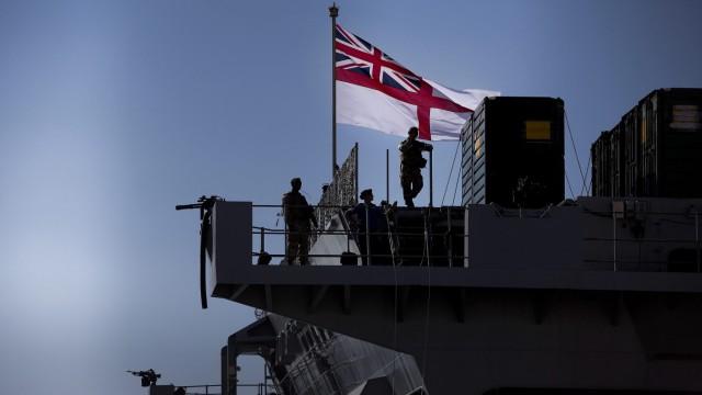 HMS Bulwark Lissabon