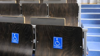 Behindertenplätze an der LMU in München