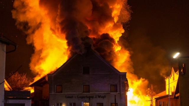 Großbrand Dorfen