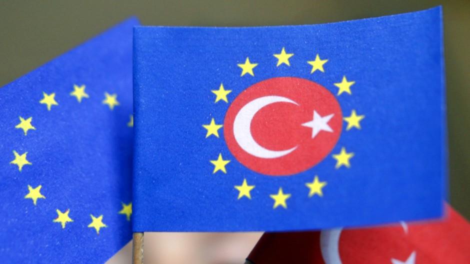Symbolfoto für die Verhandlungen zum EU-Beitritt der Türkei, 2005