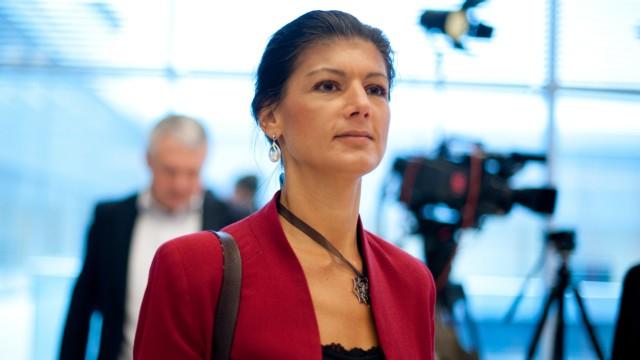 Bundestag - Fraktionssitzung Die Linke