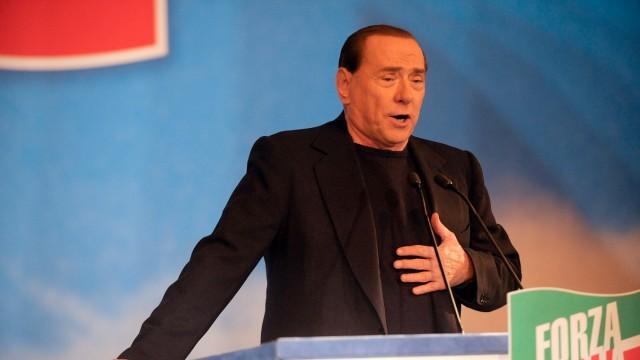 The Italian Senate Votes Over Berlusconi Parliament Expulsion