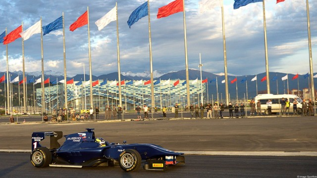 Formel 1 Formel-1-Strecke in Sotschi