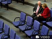 Angela Merkel, Volker Kauder, dpa