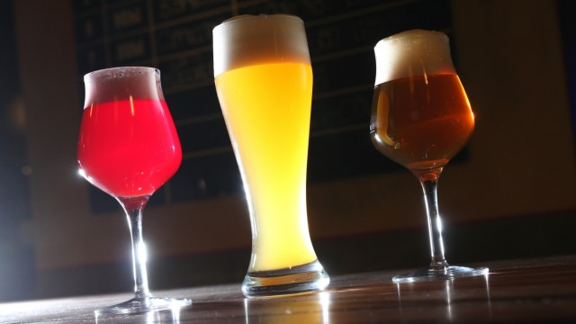 Craft-Biere im Test.