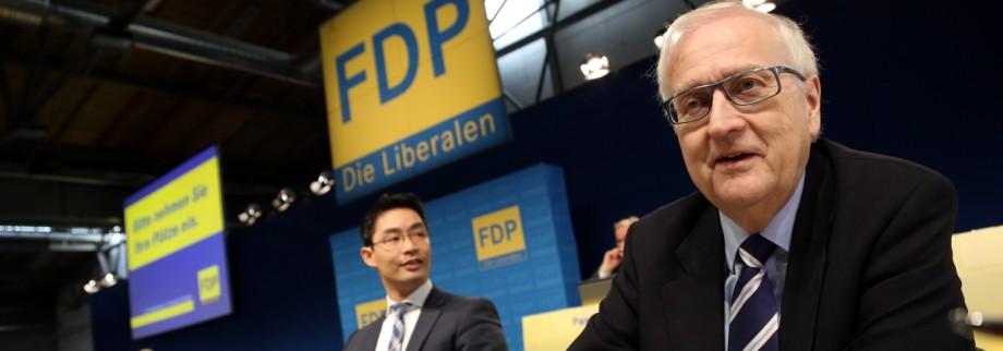 FDP Rösler Brüderle Lindner