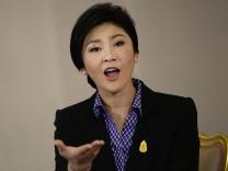 Thailands Ministerpräsidentin Yingluck Shinawatra