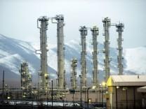 Schwerwasserreaktor Arak im Iran
