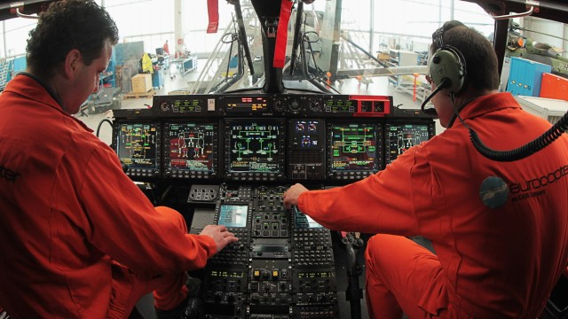 Eurocopter Assembly As EADS Announces 2011 Results