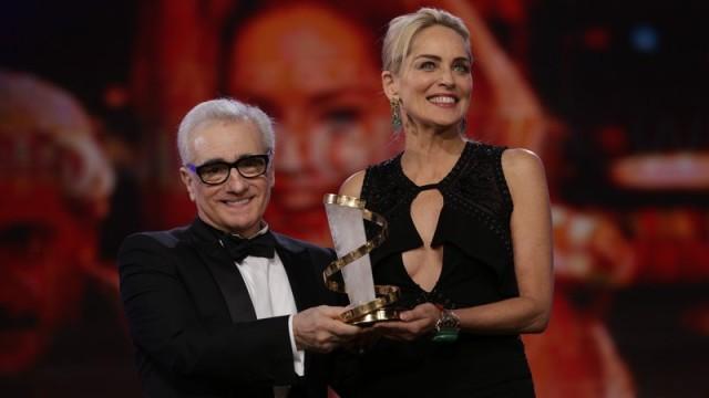 Martin Scorsese und Sharon Stone