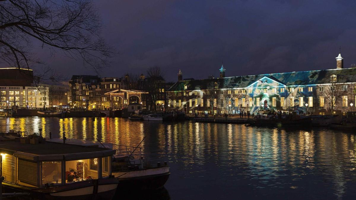 Licht Tour Amsterdam : Amsterdam light festival die idee an weihnachten die