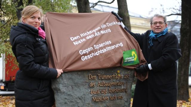 Trümmerfrauen Debatte um ein Denkmal