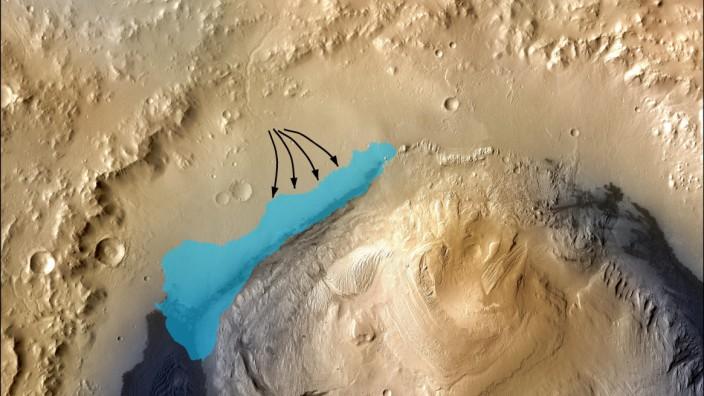 ars lake may have been friendly to microbes: NASA