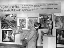 """Ausstellung """"Entartete Kunst"""" in München"""