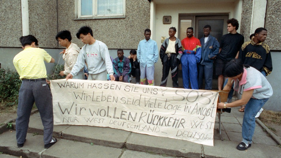 Ausschreitungen Hoyerswerda 1991