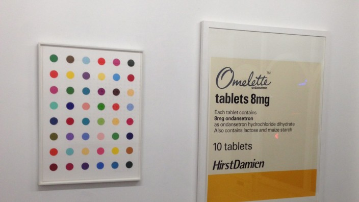 THEFT OF HIRST ARTWORK