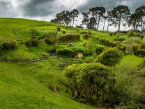 Hobbit Drehorte Neuseeland Hobbiton