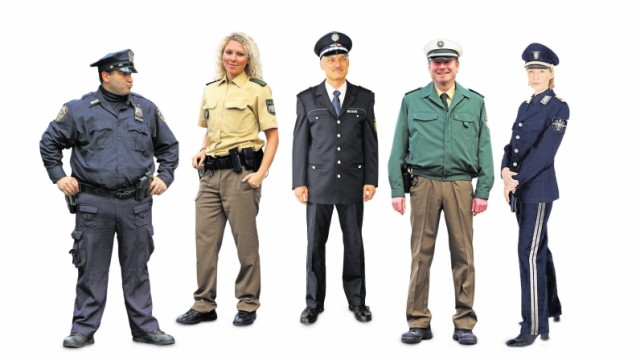 Polizeiuniformen