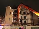 Einsturzgefährdetes Haus in der Leopoldstr.