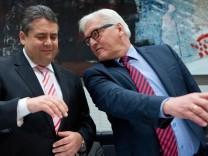 Große Koalition; Minister; SPD; Gabriel; Steinmeier