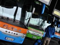 Fernbusse von Flixbus und MeinFernbus