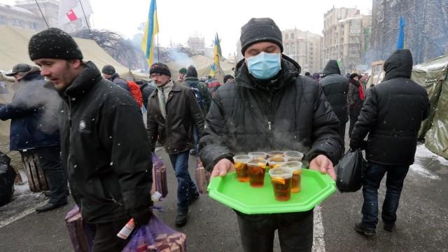 Pro-Europäische Proteste in der Ukraine