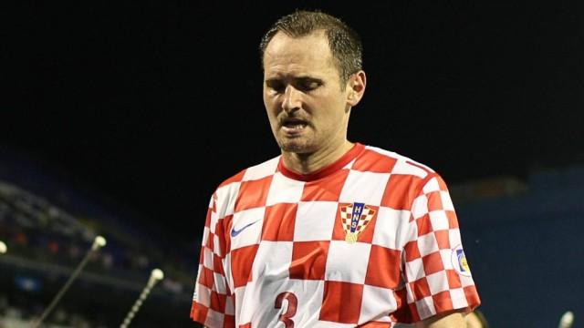 Josip Simunic Eklat bei Qualifikationsspiel