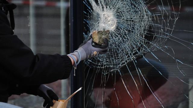 Angriff auf die SPD-Zentrale in Berlin