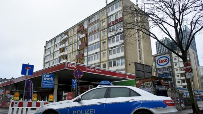 'Esso-Häuser' wegen Einsturzgefahr geräumt