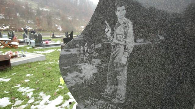 Friedhof von Medari, Kroatien