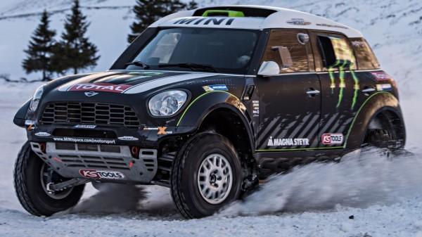 Countryman, Mini, Rallye Dakar
