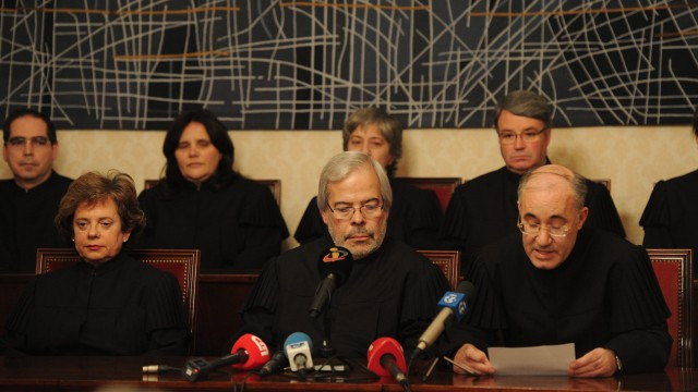 Portugal, Verfassungsgericht gegen Rentenkürzung