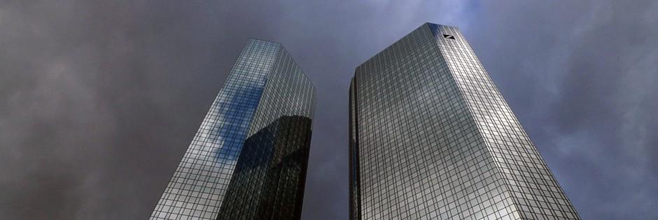 Deutsche Bank-Zentrale in Frankfurt