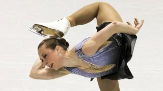 Eiskunstlauf Eiskunstläuferin Nathalie Weinzierl